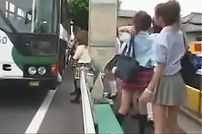 Luckiest guy at all times japanese schoolbus fastening 1-240p